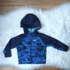 ⚡️ Baby NIKE Zip Up jacket with Hoodie Sz 18 Mo